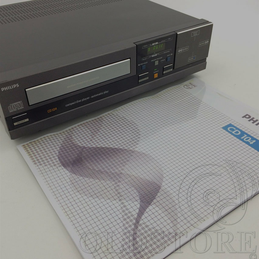 Lettore CD Vintage Midi Philips CD 104