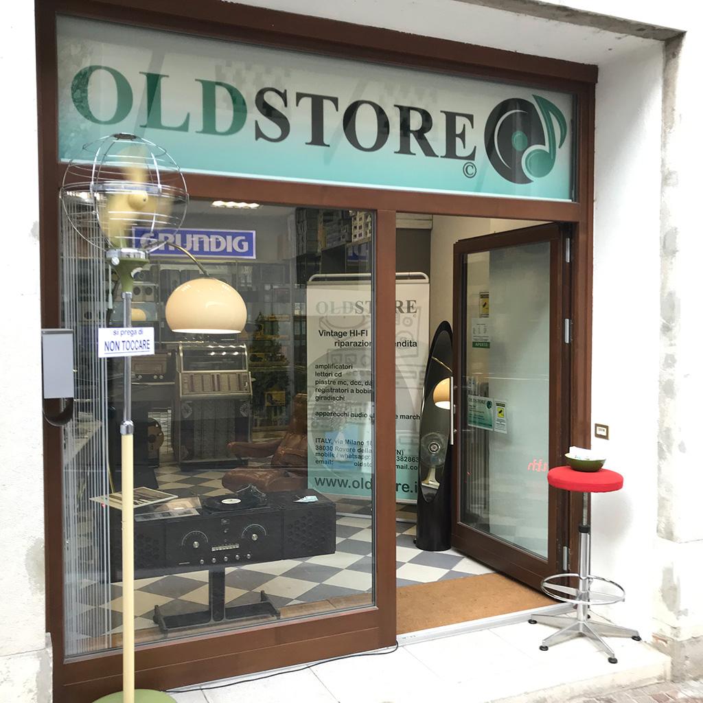 Negozio Hi Fi Vintage OLDSTORE - Trento
